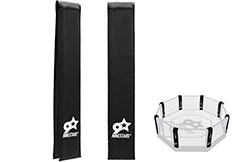 Corner protection for MMA cage - Customizable, NineStars