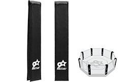 Protección de esquina jaula MMA - Personalizable, NineStars