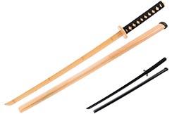 Katana de entrenamiento, Bambú natural - ShenLong