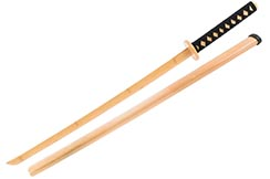 Katana for training, Natural Bamboo - ShenLong