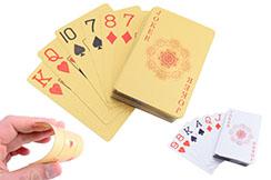 Juego de 55 cartas para la práctica de juego y lanzamiento