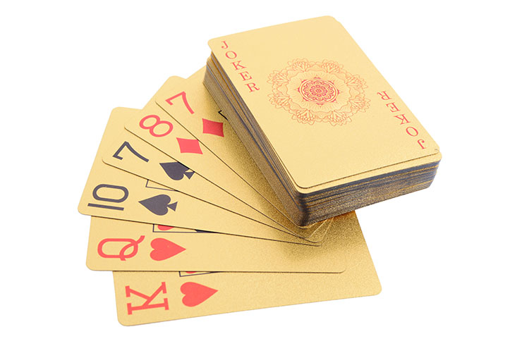 Set of 55 Playing Cards for Playing & Throwing Practice