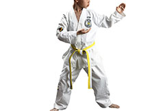 ITF Sasung Training Dobok, White Collar