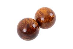 Qi Gong balls - Tiger Eye