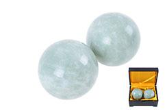 Qi Gong Balls - Jade
