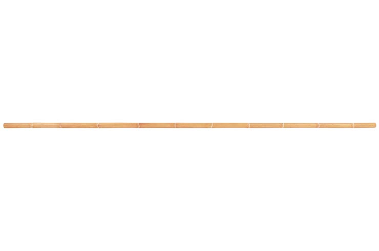 Bâton Long, Bois Brut - Rotin