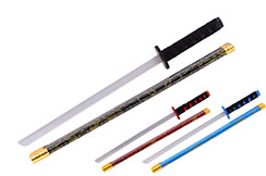 Katana with marbled scabbard - Wooden, Small model