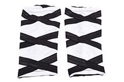 Guêtres Shaolin, Blanc & Noir