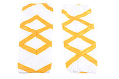 Shaolin socks, White & Gold