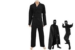 Ninja uniform with cape