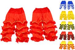 Paire de Pantalons pour Costume danse du Lion du Sud - Haut de gamme