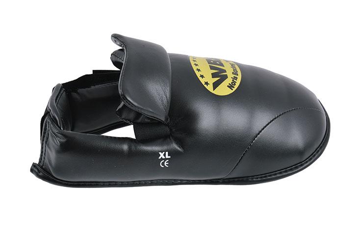 Espinilleras y Protector Pies WBE - Negro XL, Noris