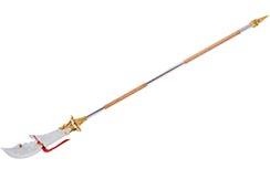 Alabarda HaoYue Dragon, desmontable - Oro/madera, Acero Inoxidable
