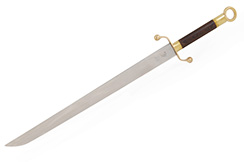 Sable Nan Dao (Estilo del Sur, Moderno) Gama Alta - Semi-flexible (Ligero defecto en la hoja)