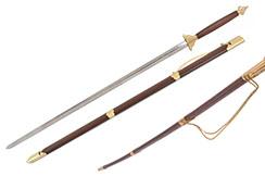 Two Handed Sword Upper Range - Rigid (Twisted scabbard)
