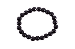 Bracelet, Obsidian - Stone 8 mm