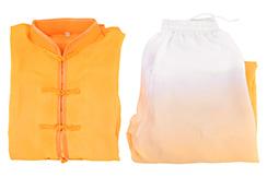 Tai Chi Uniform, Gradient Tones, Bicolor Classical (Size 1m40)