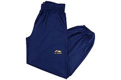 Pantalon Taiji LiNing, Denglong avec Velours - Bleu (Taille 1m70)