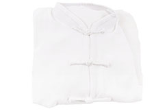 Classic Taiji Top, White Classical Upper Range - Size 1m90 (Sleeve without Brandenburg)