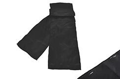 Cinturón de Kungfu Wushu, Satinado - Negro (Dañado)