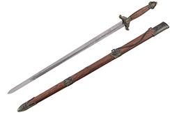 Épée Chenlian, Taiji, Acier Inox - Semi Flexible