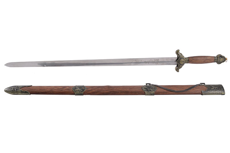 Chenlian Straightsword, Stainless Steel - Semi Flexible