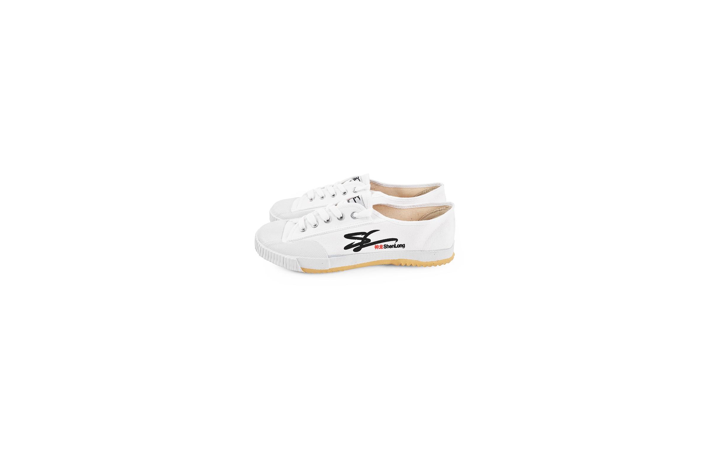 Zapatos de Wushu 'Shen Long', Blancos - 39