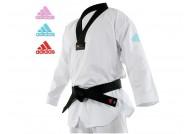 Dobok Taekwondo Contest - Col Noir WTF ''adiTC03'', Adidas