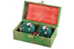 Boules Qi Gong émaillées, Santé Chinoise