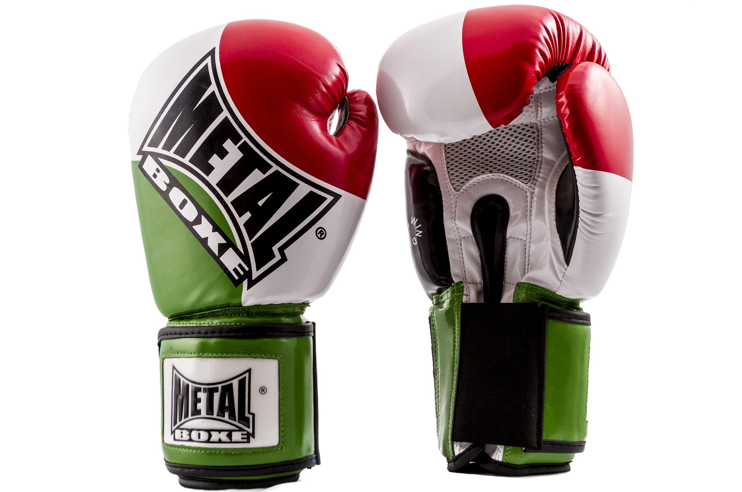 Gants Compétition Pays ''MB221'', Metal Boxe