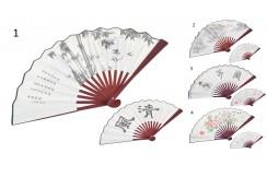 Traditional Fan, 2in1 White