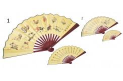 Traditional Fan, 2in1 - Golden