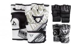 "MMA Gloves ""Nitro"" Skintex leather, Ringhorns"