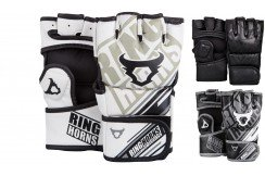 "MMA Gloves ""Nitro"" Skintex leather, Ringhorns"