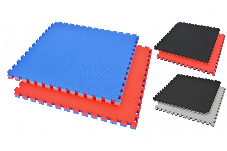 Puzzle Mat, 2.5cm, Blue/Red