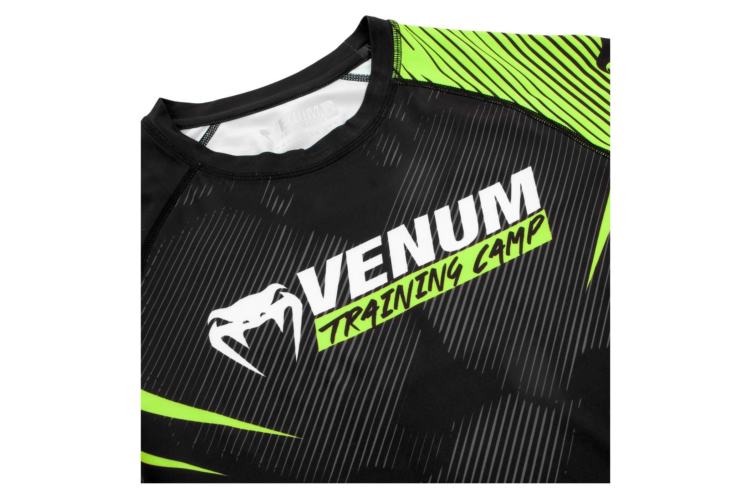 Venum Training Camp 2.0 Rashguard-Manches Courtes Homme