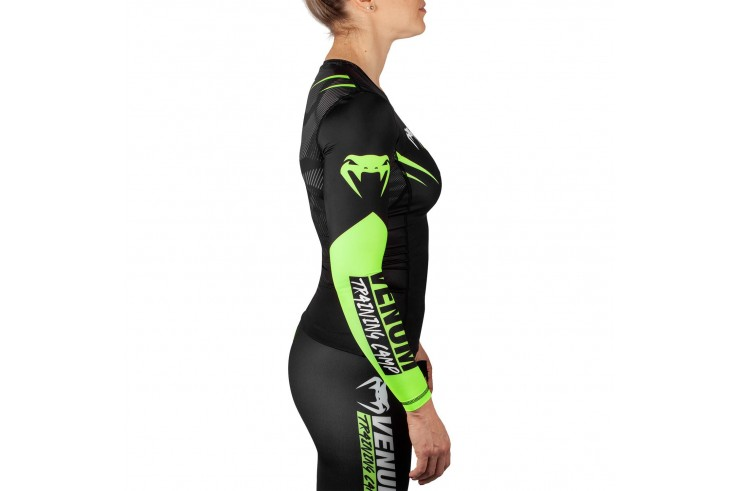 Rashguard Mujer - Mangas Largas - Training Camp 2.0 - Venum