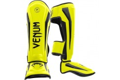 [Destock] Shin & Step Guards, Jaune - Elite, Venum