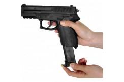 Pistolet Plastique avec Chargeur - ARE409, Metal Boxe