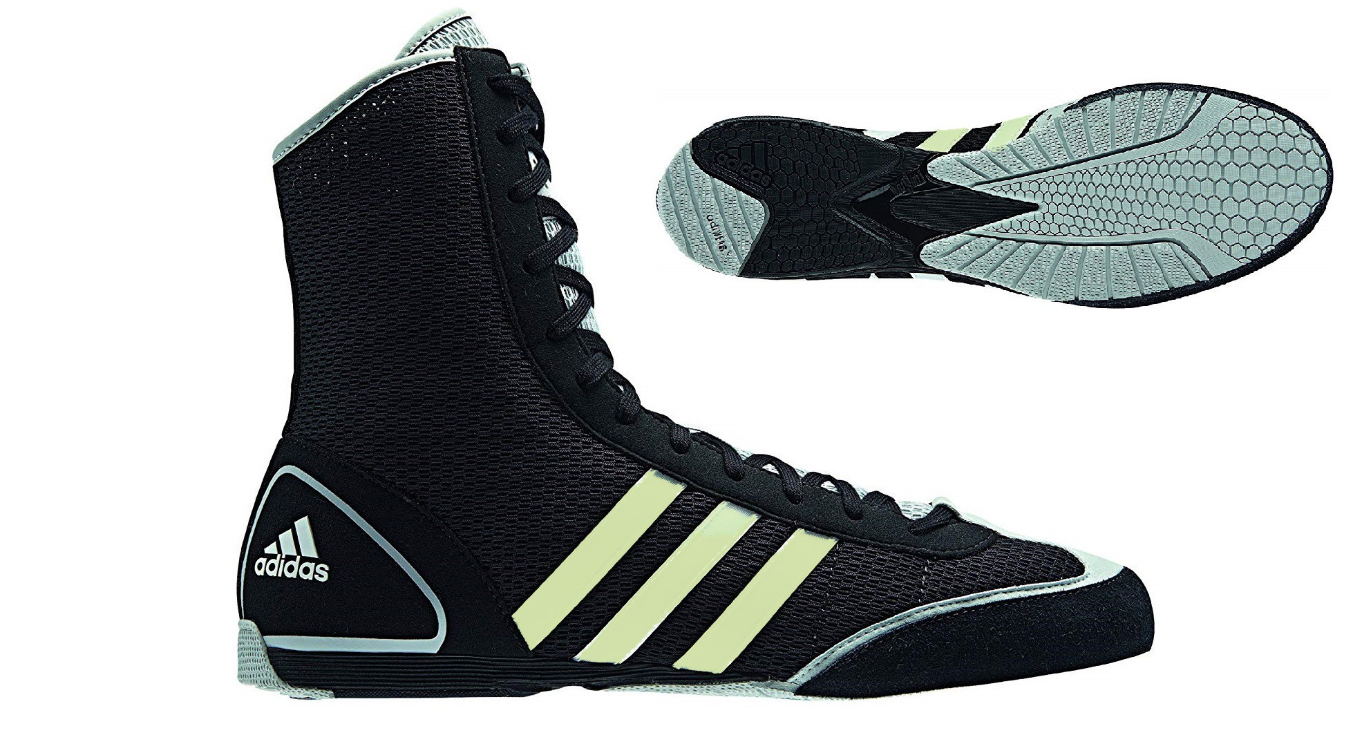 Fin de série] Chaussures Boxe, Rival II G62604, Adidas