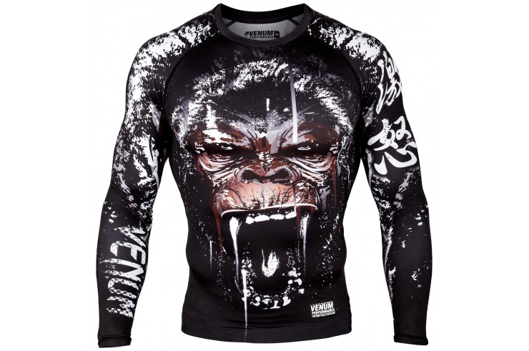 [Destock] Long sleeves rashguard - Black - XXL - Gorilla, Venum