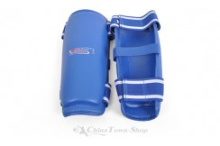 [Destock] Karate Leg Protector, L - Blue
