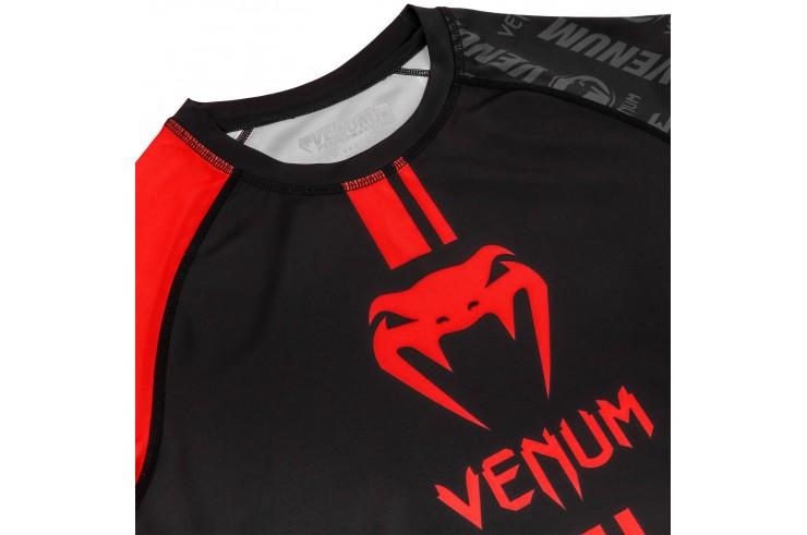 Rashguard, Manches Courtes - Logos, Venum