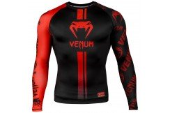 Rashguard, Long Sleeves - Logos, Venum