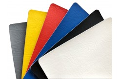 Rollable Mat 1 x 5 m - PVC Lining, Smooth with leather pattern