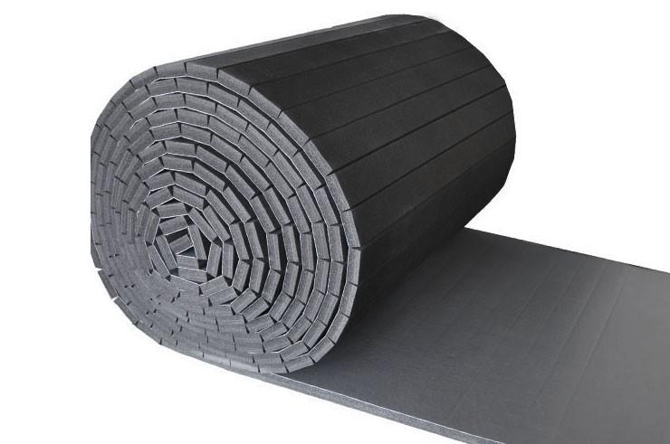 Tatami Déroulable 1 x 5 m - Revêtement PVC Lisse, motif Cuir