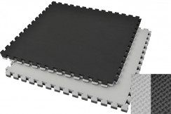 Tatami rompecabeza 4,5 cm Negro/Gris - Antideslizante