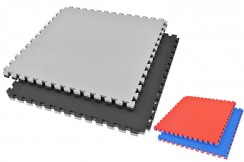 [Destock] Puzzle Mat, 4.5cm, Black/Grey, T pattern, Multipurpose