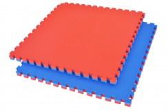 Tatami Puzzle 4,4 cm Bleu/Rouge - Motif en T (Polyvalent)