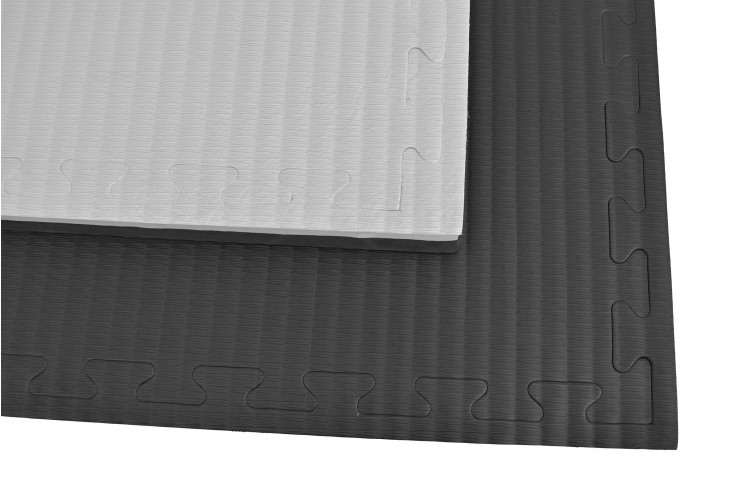 [Destock] Puzzle Mat, 4.3cm, Black/Grey, Rice Straw pattern, Grappling Workout